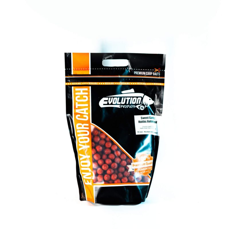 evolution-products-Readymade-Boilies-Sweet-Garlic-Robin-Red